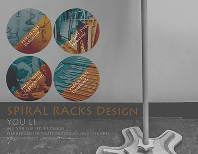 Spiral Cloth Drying Racks Design