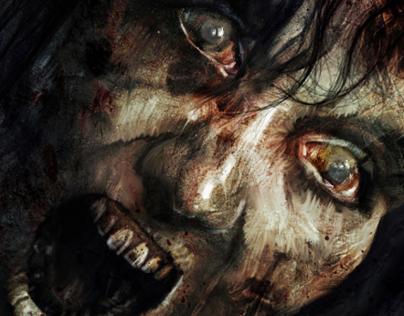"""""""Talking Dead...Zombies Paint'"""