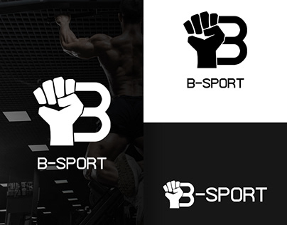 B-Sport logo and website