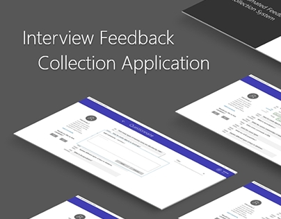 Windows UI - Interview feedback collection application