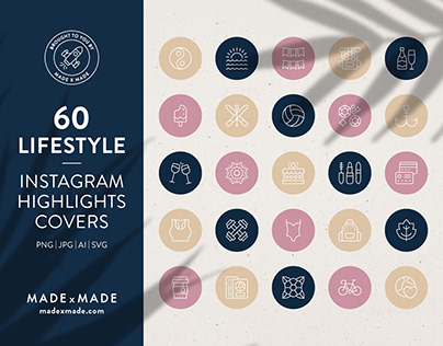 Lifestyle – Instagram Highlight Covers