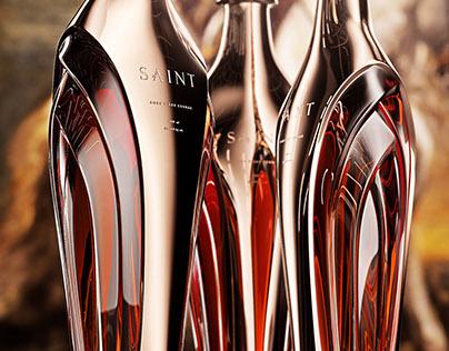 Saint, Luxury cognac bottle concept