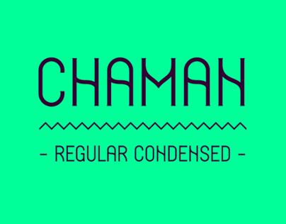 Chaman - Tipography