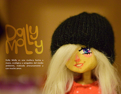 Dolly Molly - Wooden doll