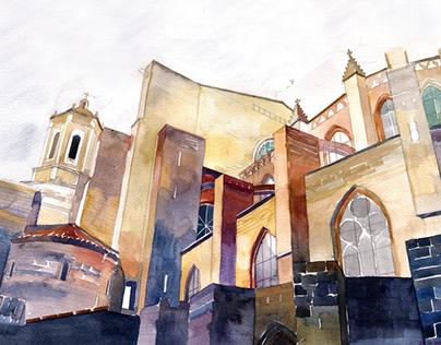 architectural watercolors vol 6