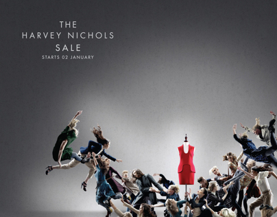 Harvey Nichols - Fight - Sale Campaign 2012