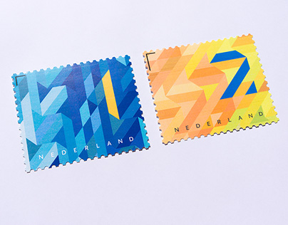 Dutch business stamps for PostNL