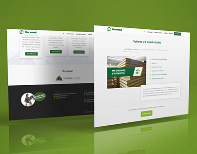 Website design (client: Norwood s.r.o.)