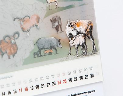 WWF- Armenia Calendar
