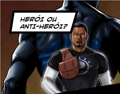 Hero or antihero - presentation design
