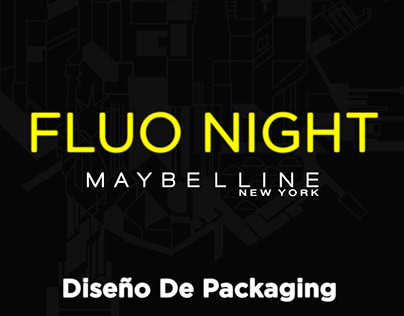 Maybelline Fluo Night - Packaging Final (UADE 2020)