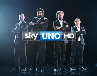 IDENT - Sky Uno - Masterchef Italia - 2015
