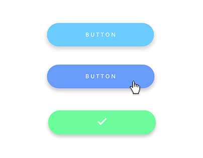Web & mobile UI design: Button states in Justinmind