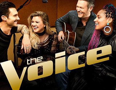 NBC's The Voice Award Design process