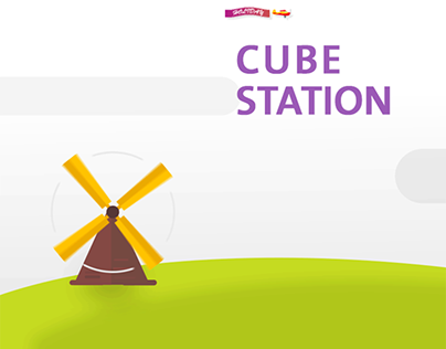 CUBE STATION - motion graphic & animation