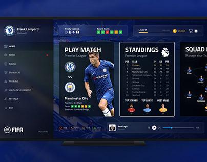 EA Sports Fifa Career Mode Concept Design