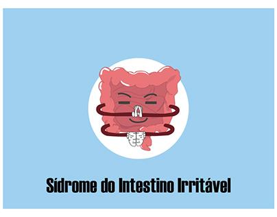 Banner sobre a Síndrome do Intestino Irritável