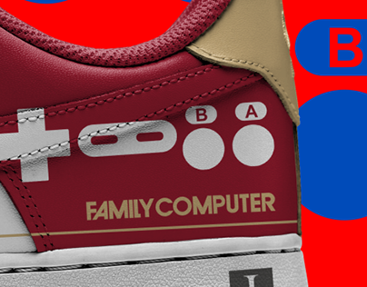 FAMILY COMPUTER SNEAKERS + NIKE