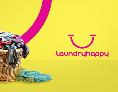 Laundry Happy Branding