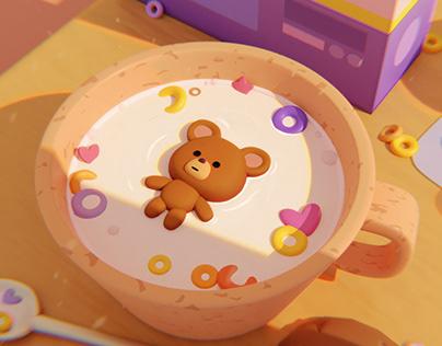 Teddy bear Mini Movie