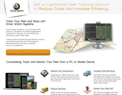 DWS Landing Page Design & Website Design