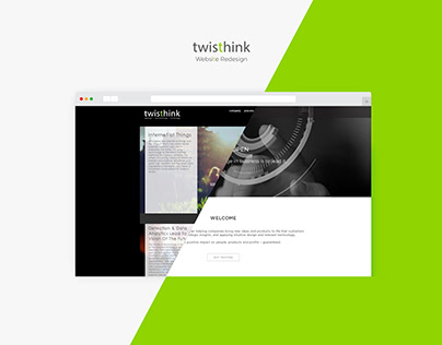 Twisthink Web Redesign