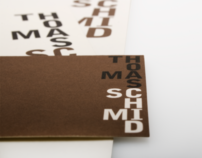Thomas Schmid Carpentry - Visual Identity
