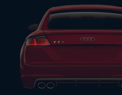 Audi TTS Coupé Landingpage