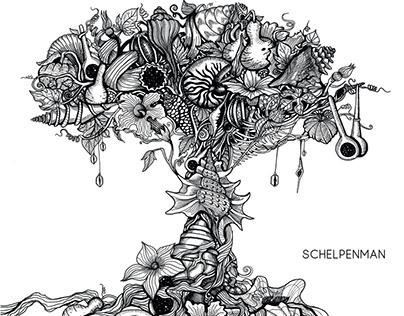 """Album """"Kürbis"""" de Schelpenman (sortie septembre 2019)"""