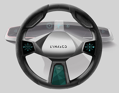 LYNC & CO Steering Wheel