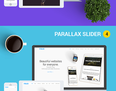 FOLIO - One Page HTML5 Template