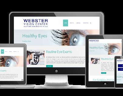 Webster Vision | Website Design