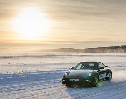 Porsche Driving Experience - Winter 2013