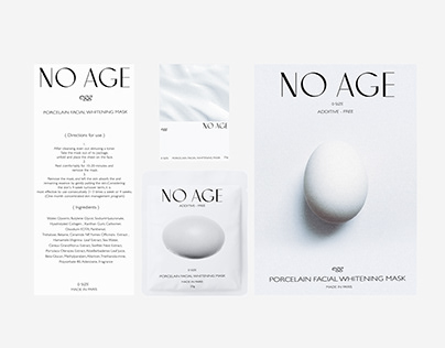 Egg mask package design