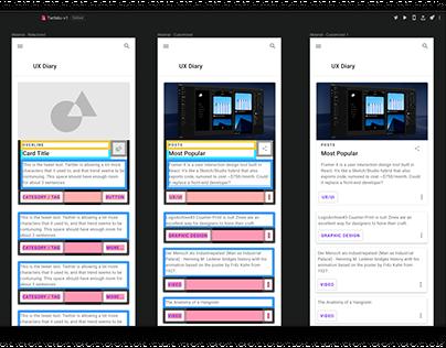 Responsive Web App in Vue.js