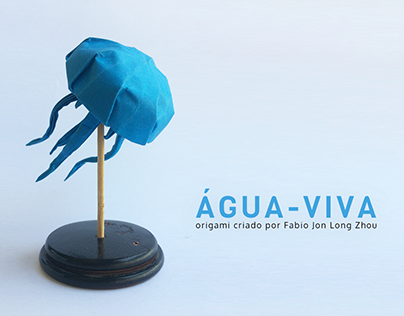 Origami de água-viva