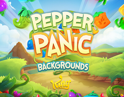Pepper Panic Backgrounds
