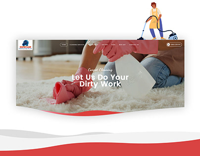 Master class cleaning group pty ltd - web presentation