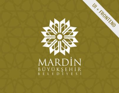 Mardin Municipality | UI, FrontEnd