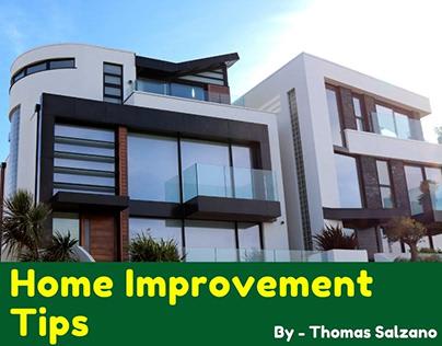 Thomas Salzano - Home Improvement Tips