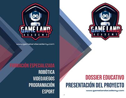 Dossier para Game Land Academy https://gamelandacademy.