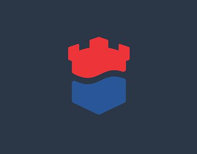 City flag of Kalmar
