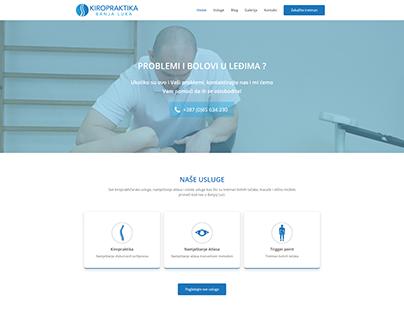 Website for Chiropractor