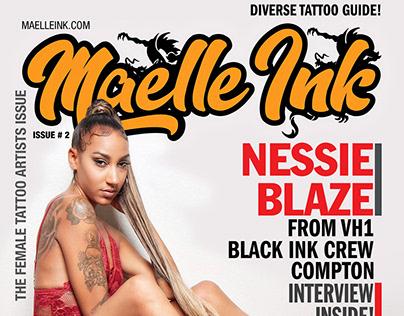 NESSIE BLAZE FROM VH1 BLACK INK CREW COMPTON