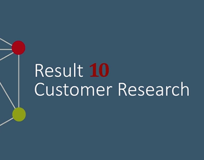 Result 10 Customer Research / Video