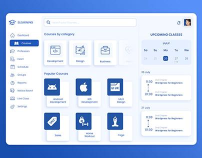E-Learning App UIUX