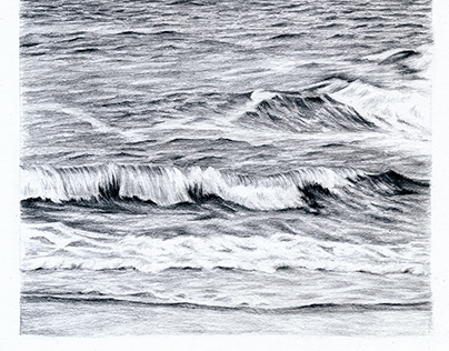 Ocean Graphite Drawing Collection