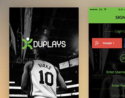 Work in progress- Sports event app ui/ux