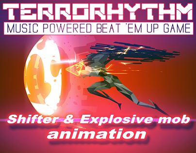 Mobs animation and VFX for TERRORHYTHM game