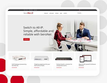 Telephony Technology Web Design